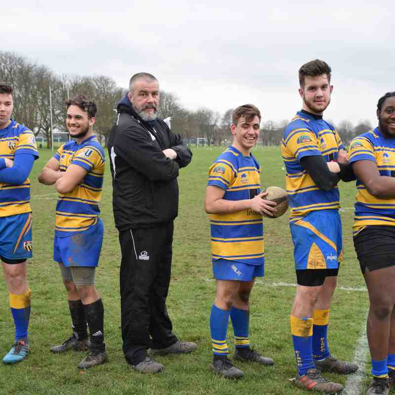 Academy players step up to the 3's 16/02/19