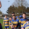 THREES SUBJECT THE CHAMPIONS TO A TOUGH TEST