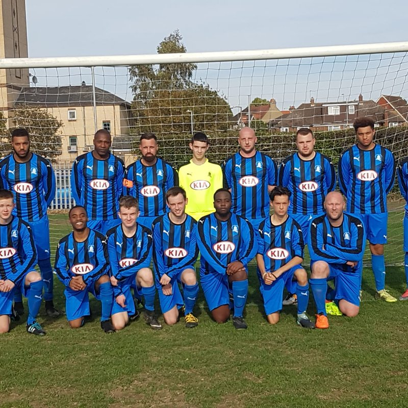 Chalvey Sports Reserves lose to Old Bradwell United Dev' 1 - 5