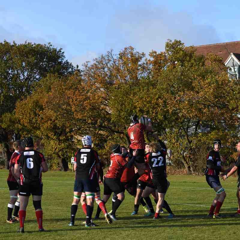 Colchester Cavaliers vs Halstead RFC