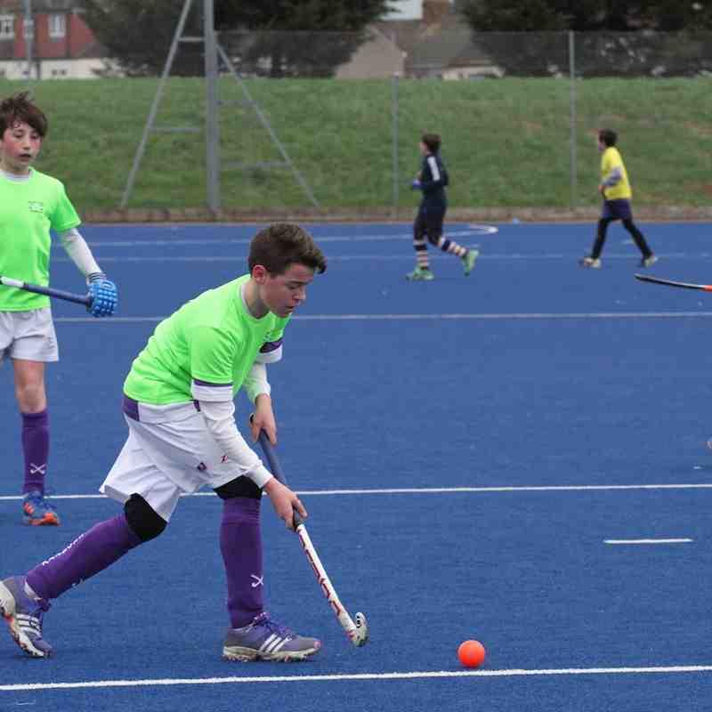 U12B at Redbridge (Courtesy of Gill Woods)