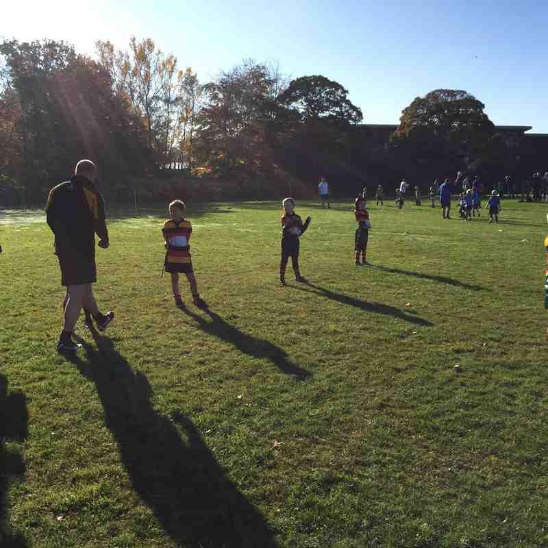 Under 8's Heaton Moor vs Macclesfield RUFC