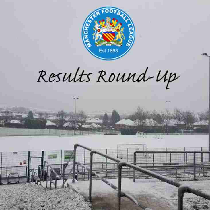 Results Round-Up - 25.11.17