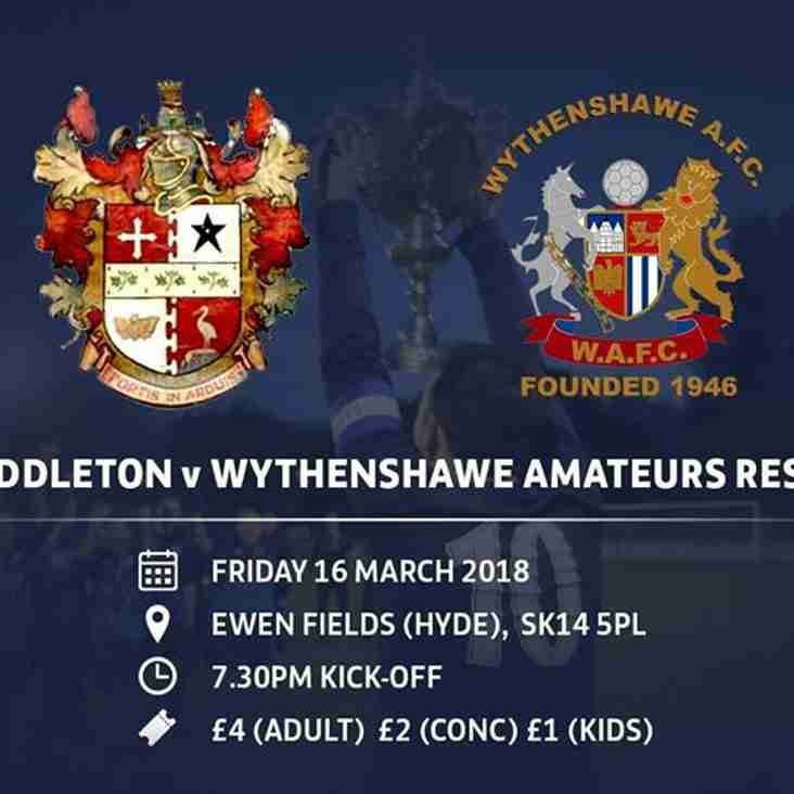 Wythenshawe Are Up For The Cup
