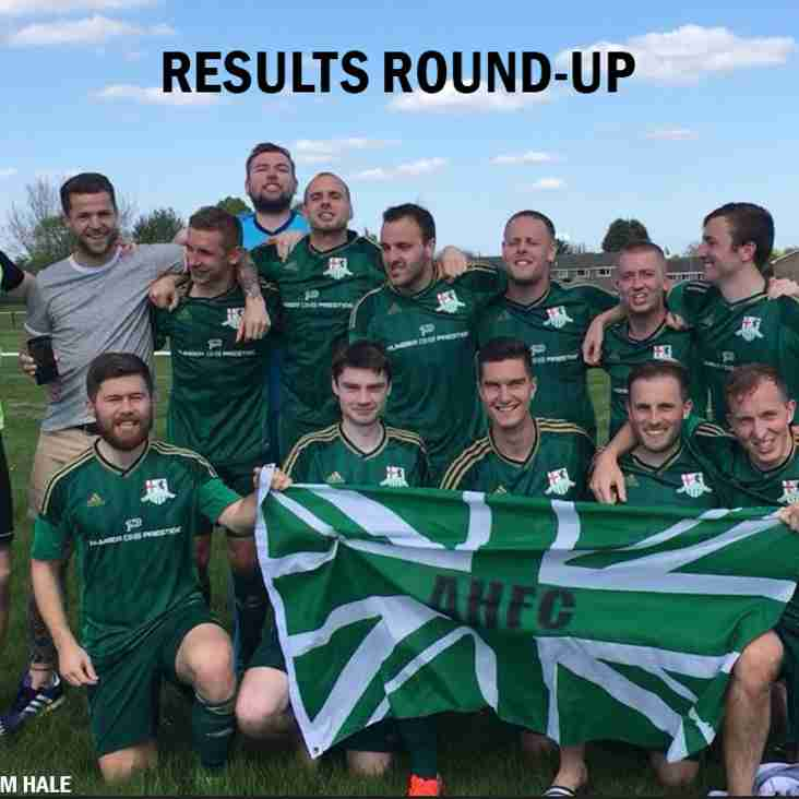 Results Round-Up - 05.05.18