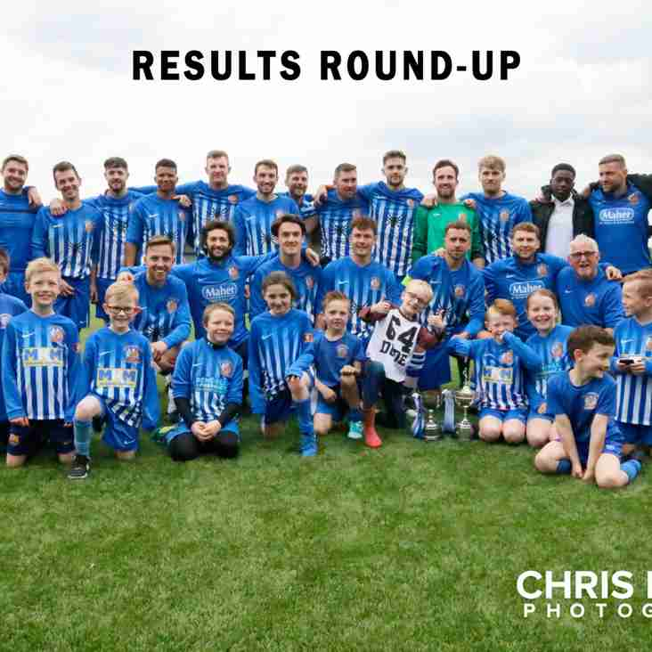 Results Round-Up - 12.05.18