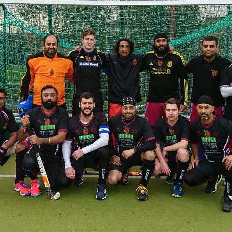 Men's 2nd XI beat PHC Chiswick Men's 5s 0 - 4