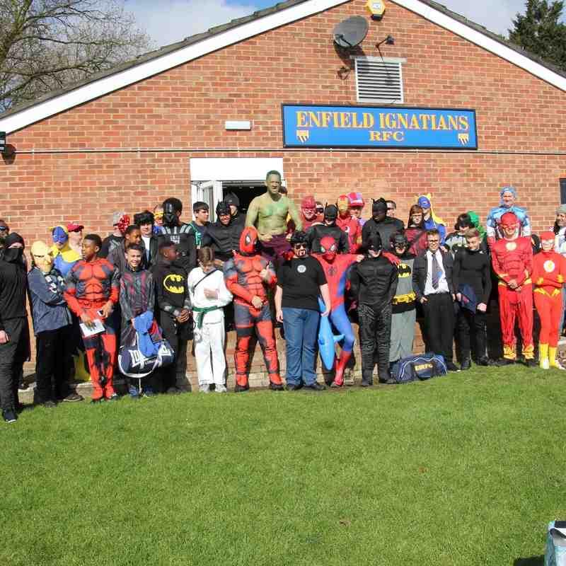 U14s 2016 Tour Wymondham RFC & Holt RFC