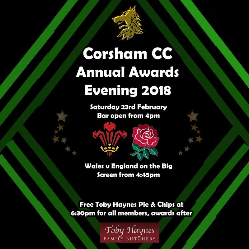Corsham CC Awards Presentation Evening
