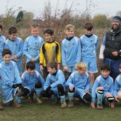 U11's Win Autumn League Cup!  Chalgrove 5 - Summertown 1
