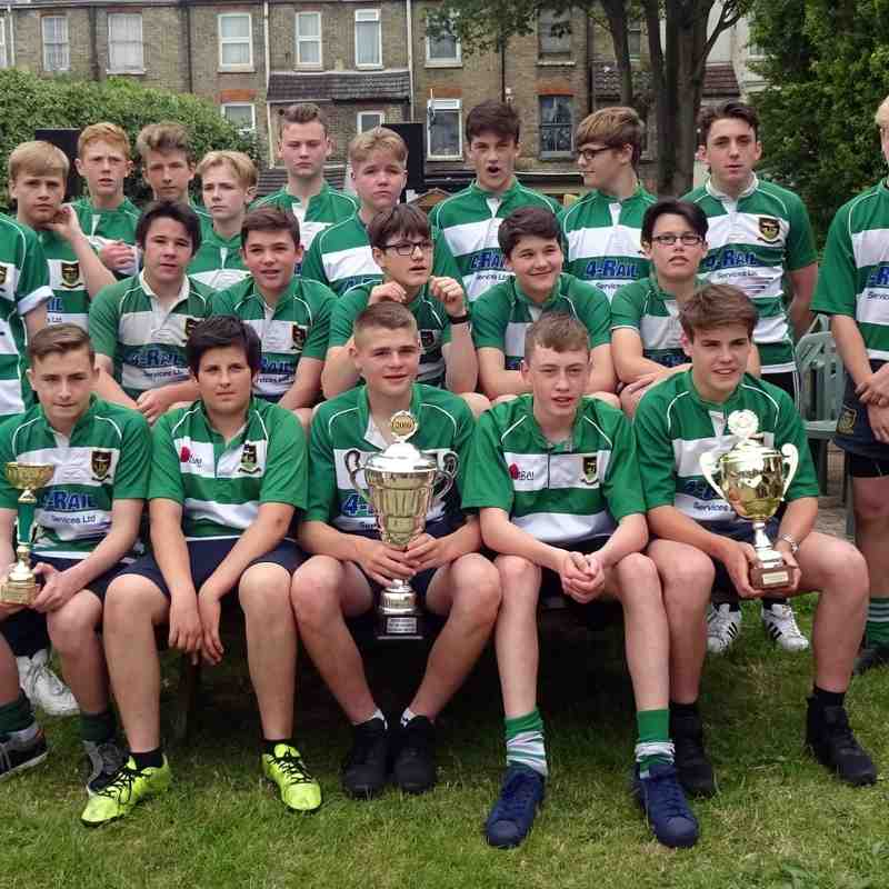 Under 14's Presentation   Saturday 4th June.