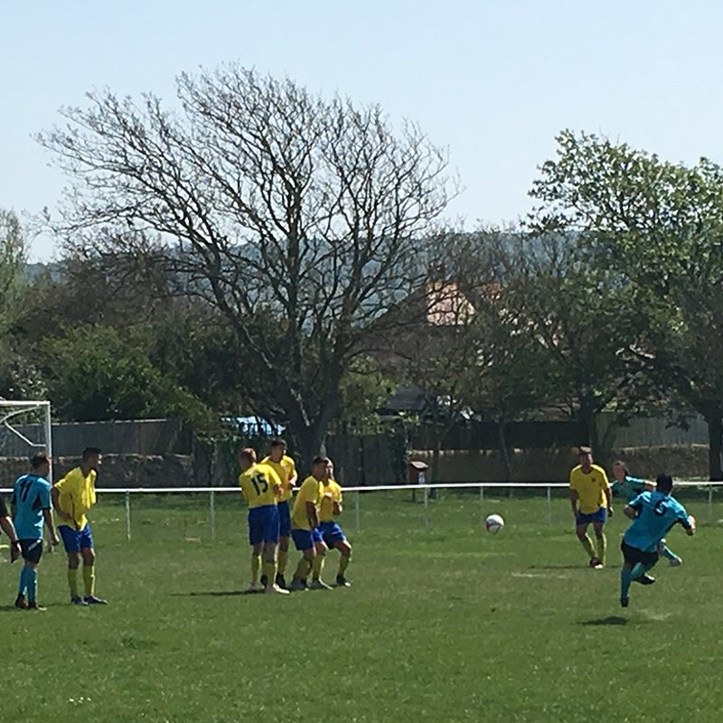 V's win 4-1 away at Seaford