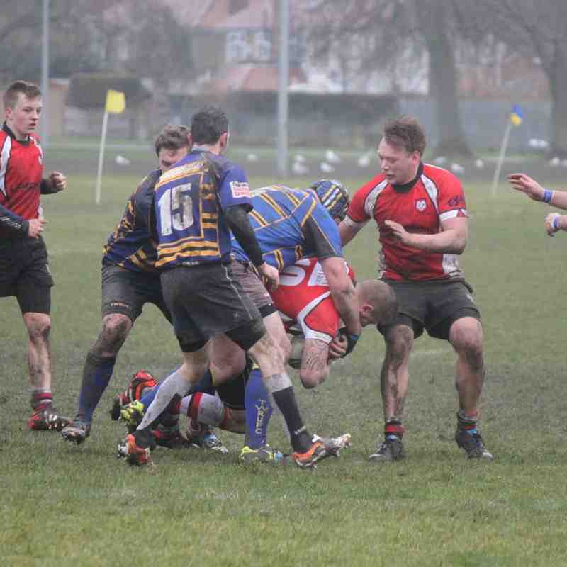 Sheppey RFC 2nd XV (Development Squad) v Thanet - 28th February 2015