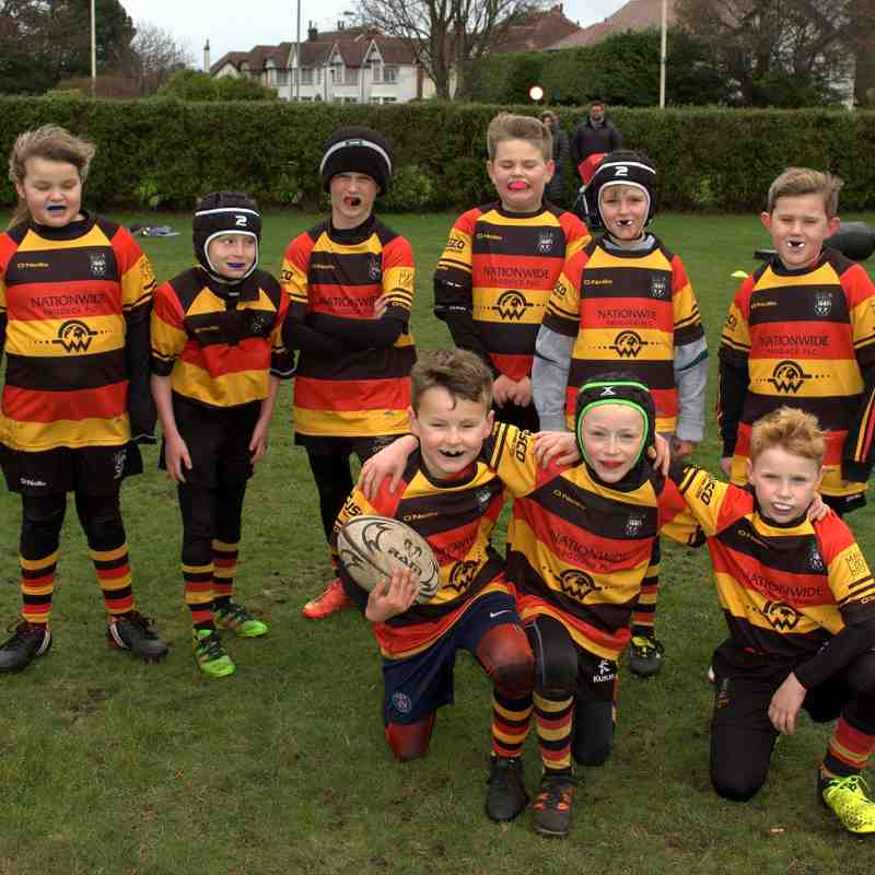 U9s Home to Ormskirk