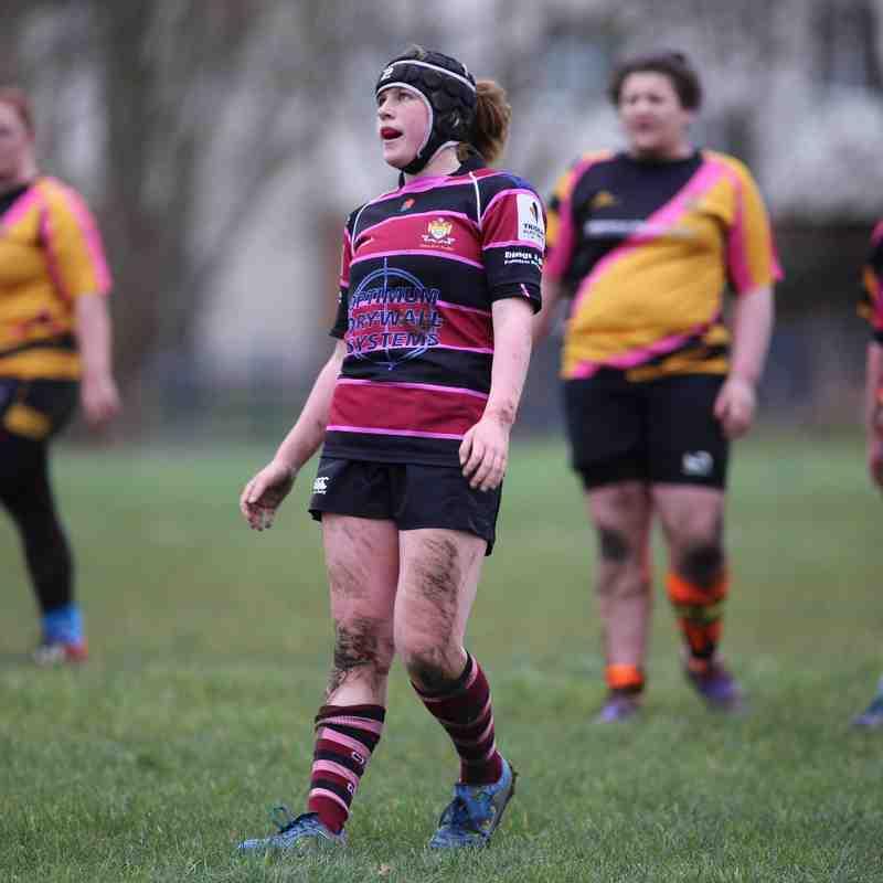 U18 Girls Tewkesbury vs Cleve 2016