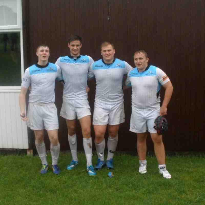 4 Dunfermline U18s Play for Glasgow Warriors U18s V Ulster