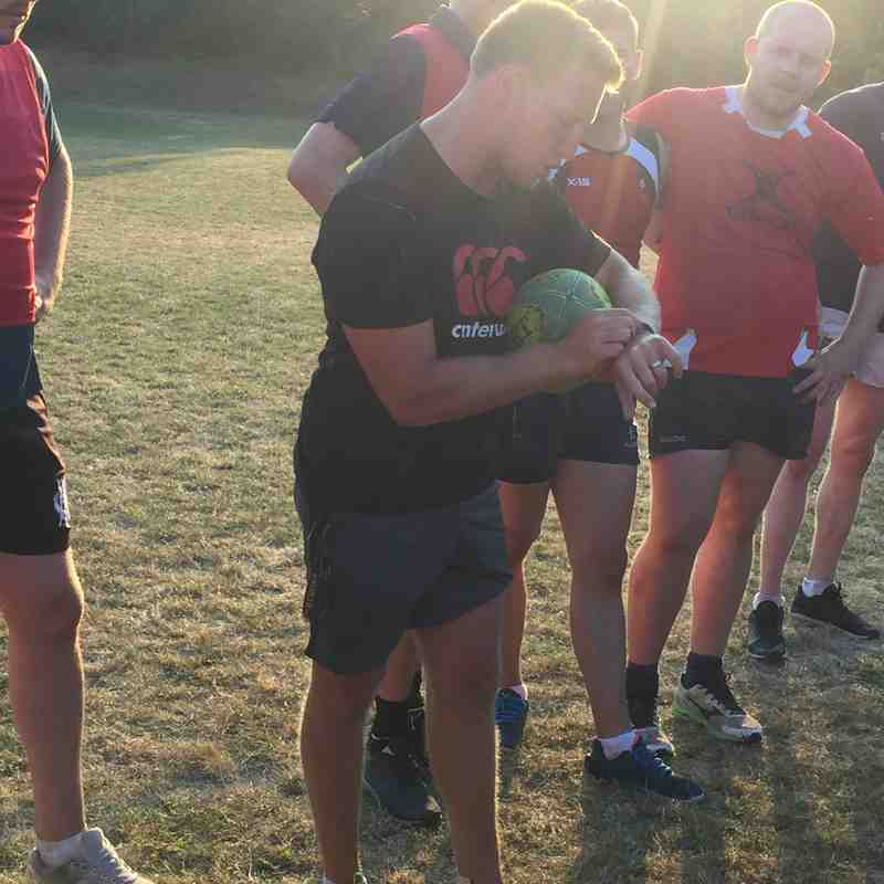First Session with new senior DOR Wynand van Zyl
