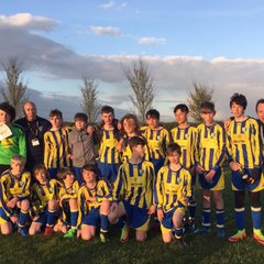 Pexhill Pirates Under 14s Are Champions