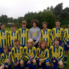 Pexhill Pirates Under 15s Team 2017