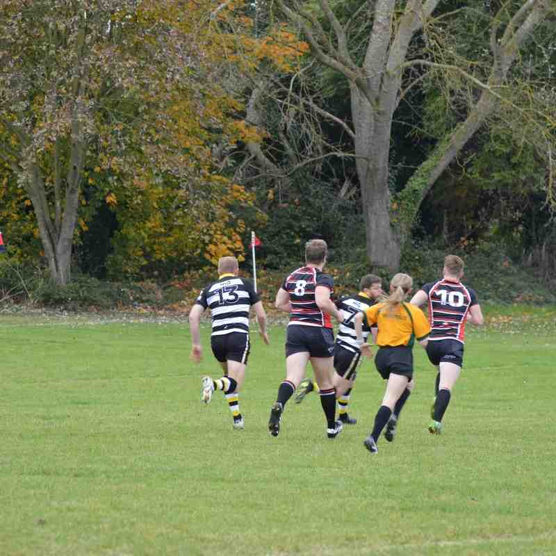 R&H RFC VS Oundle (away) 29/10/16 - great hosts but sadly we lost by a lot or not very many!! Cant blame the referee this week either - stern young lady that she was!