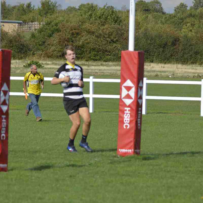 2nd XV set for a good season start after emphatic win over an understrength Kempston 1st XV 45-17 at Manor Park