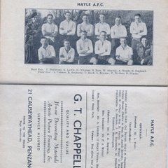 From The Cornish Riviera Football Annual 1948-49