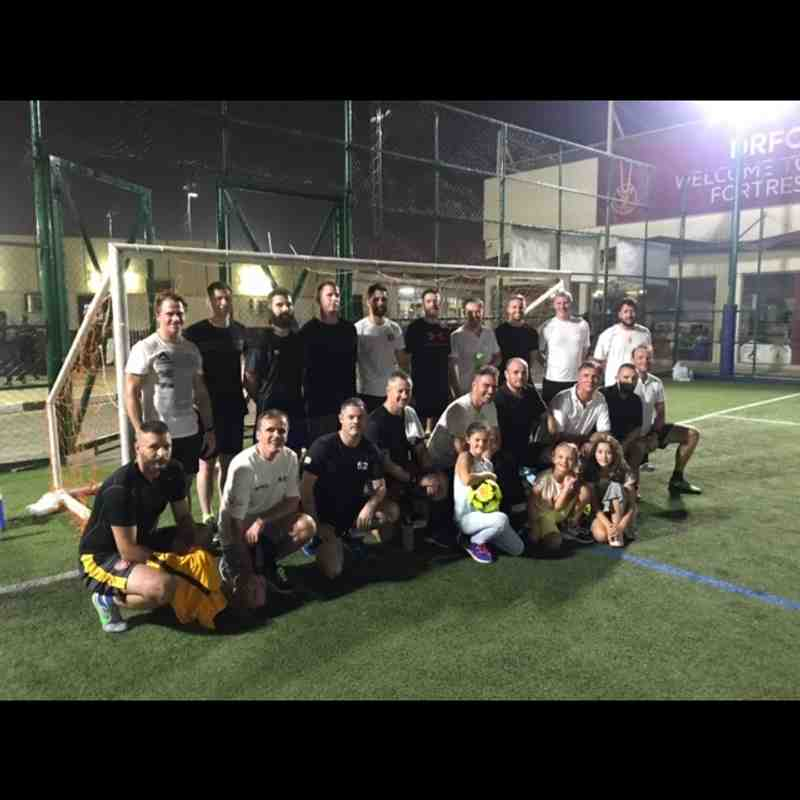Five aside football competition