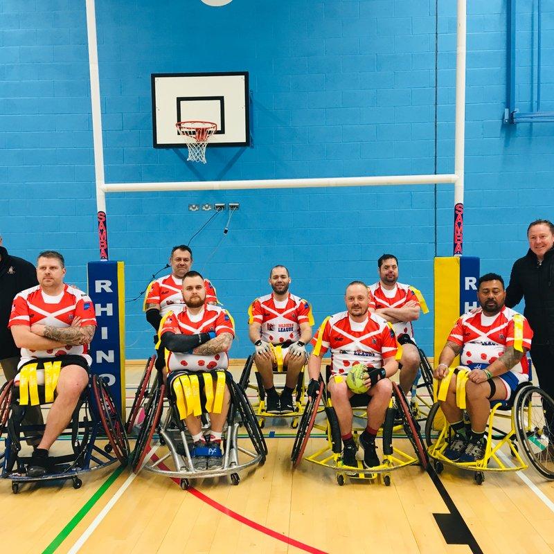 SL/Army Wheelchair RL lose to Leeds Rhino's WHRL 32 - 26