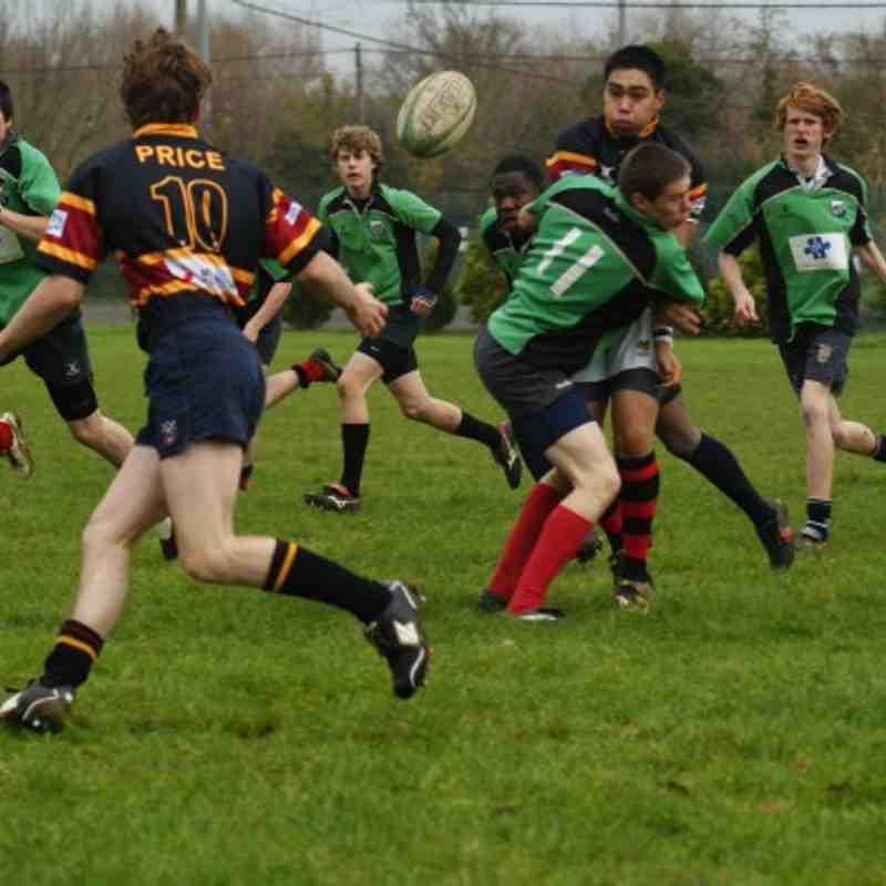 U17s - 21st Nov 2010 away at Oxford RFC ......7:33 !