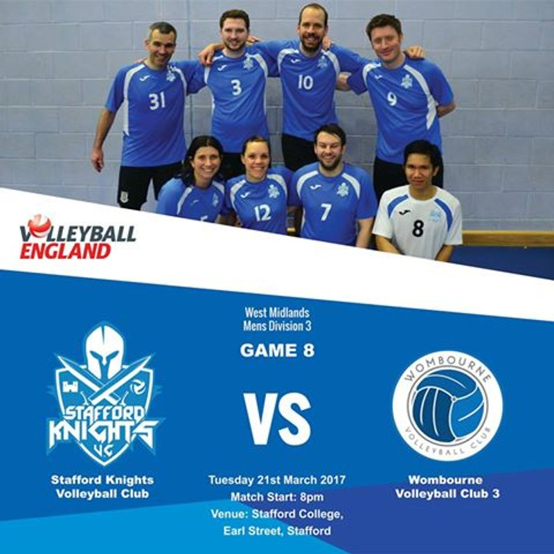 Volleyball Home Game Against Wombourne