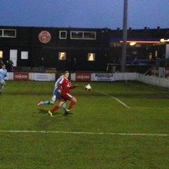 Ossett Town AFC 0 v 2 Colwyn Bay - Saturday 6th January 2018