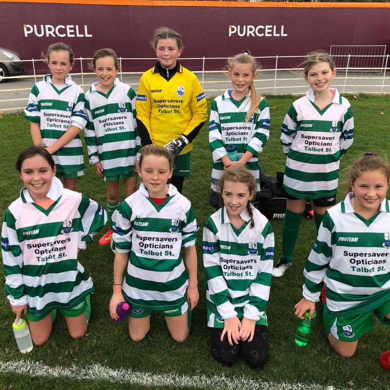 Girls U12 - Phil & Morgan beat Dunboyne 4 - 0