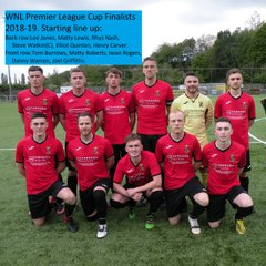 2018-19 League Cup Final - Starting Eleven Team Photo
