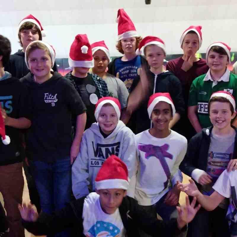 U13 2015 Christmas Bowling