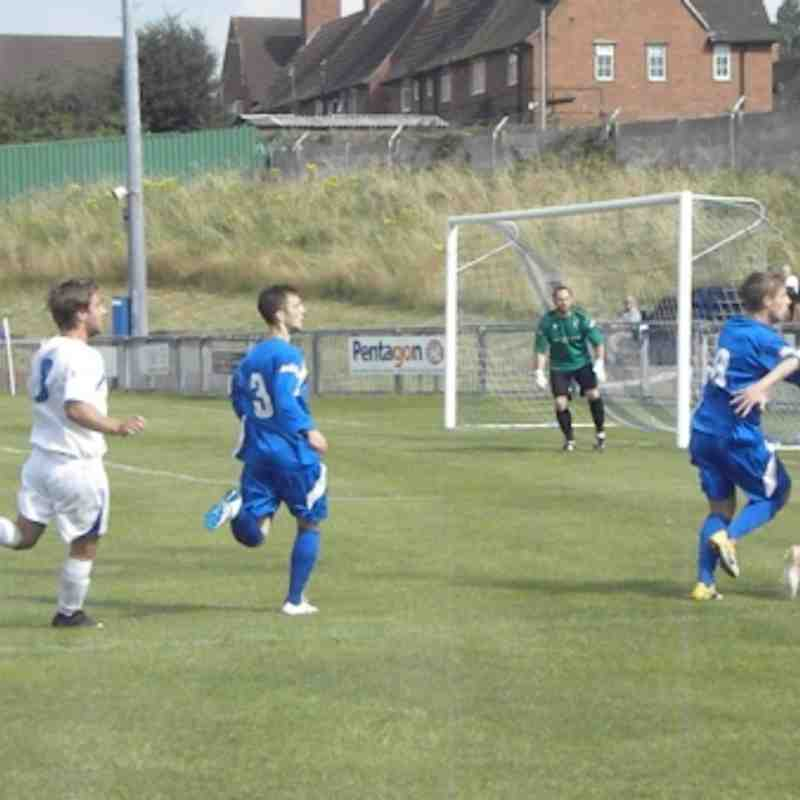 Matlock Town Friendly by Derek Bentley