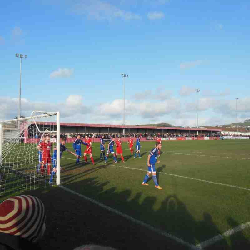 Barnstaple Town vs Bideford - 26/12/16