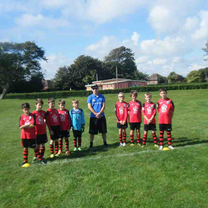Withdean Youth U11s (and the Boss) v Southwick Rangers