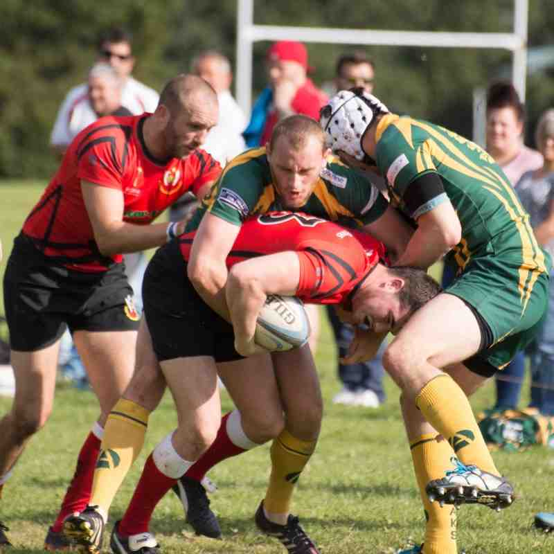 Exeter Saracens v Plymouth Albion By Donna Martin