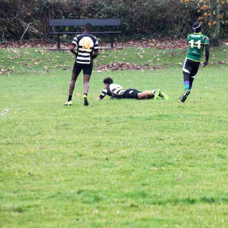U15's home win against Huntingdon 32-14, 20/11/16