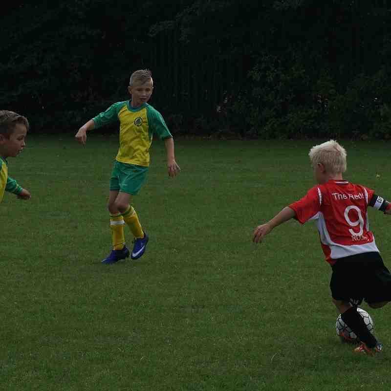 RUJFC U8's Dave Espley vs Arden Forest Green