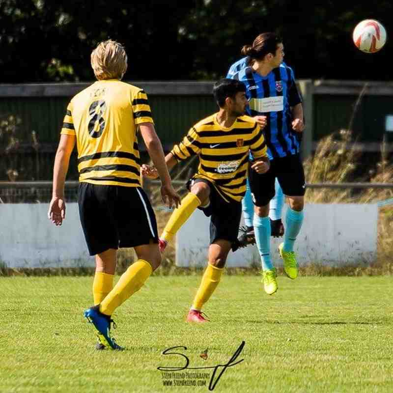 """FA Cup """"v"""" West Essex"""