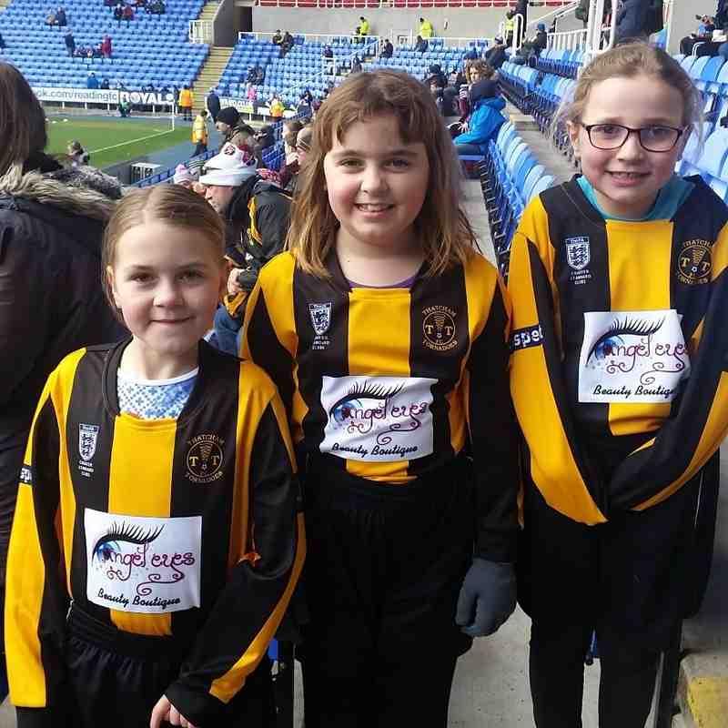 Reading vs Fulham  U8 Girls