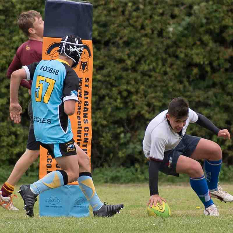 20160709-1110 U13 Tigers Vs Elmbridge Eagles