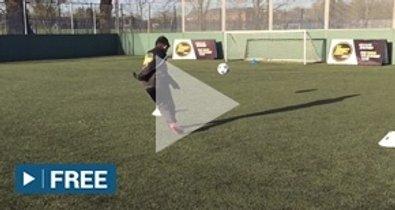 Aguero shooting challenge