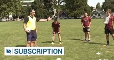 Defensive scrum roles 6,7,8, & 9