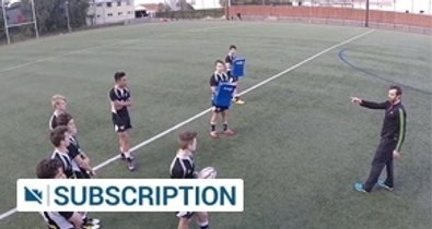 Midfield defence drill