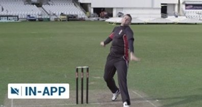 Fast bowling bouncer