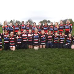 Baildon RUFC girls team