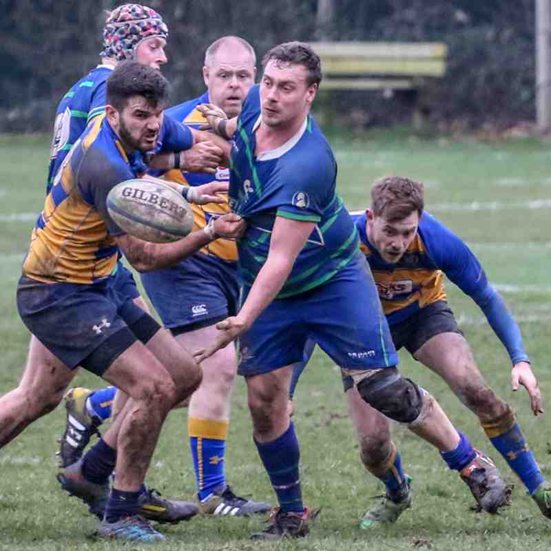 1st at home to Overton RFC, 16th Feb 2019.