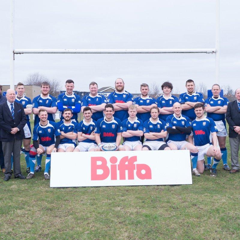 Ryton RFC 1st Team beat Sedgefield 15 - 27